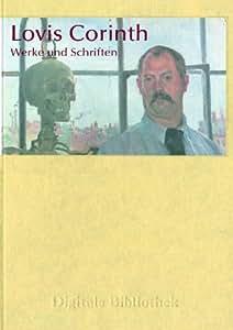 Lovis Corinth - Werke und Schriften