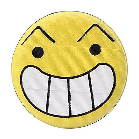 Beauté Top Mode féminine Transparent Silicone Emoji Smiley Sponge Make Up Puff (Size D)