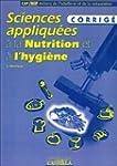 Sciences appliqu�es � la nutrition et...