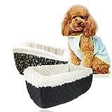 Blue Vessel Tarnung Hund Warm Mat Autositz für Kleintiere mit Sicherheitsgurt Cat Pet House Bed...