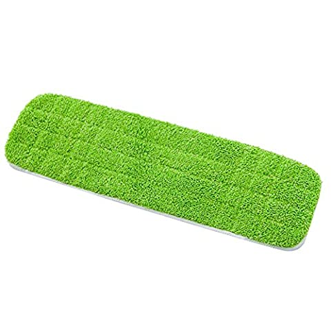 wiederverwendbar Mikrofaser Pad für Spray Mop Hausstaub Mop Head Reinigungspads
