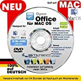 Open OFFICE MAC PREMIUM Home and Business Schreibprogramm Textverarbeitung Tabellenkalkulation Präsentation Software [auf DVD D] MAC
