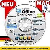 Open OFFICE MAC PREMIUM Home and Business Schreibprogramm Textverarbeitung Tabellenkalkulation Präsentation Software [auf DVD D] MAC