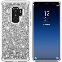 Yobby Hybrid Schutzhülle Samsung Galaxy S9,Samsung Galaxy S9 Handyhülle Bling Glitzer Funkeln Schlank Hülle Dual-Layer... preisvergleich bei billige-tabletten.eu