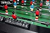 "Miweba Klapp Kicker ""Roma"" 3 Farbvarianten Tischfussball Kickertisch Tischkicker Klappkicker klappbar (Schwarz) - 5"