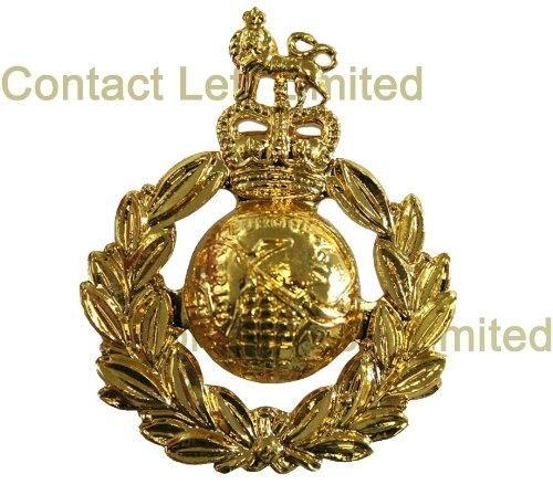 Preisvergleich Produktbild Offizielles Mützenabzeichen der Royal Marines (QC), eloxiert