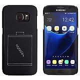 Azeeda Schwarz 'Batterie' Hülle für Samsung-Galaxie S7 (MC00031715)