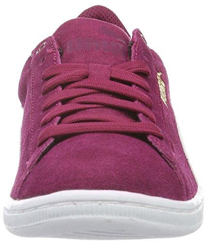 Puma Damen Vikky Sfoam Sneakers Rot (Red Plum-puma White 12)