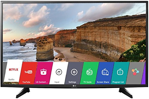 LG 108 cm (43 Inches) Full HD IPS LED Smart TV 43LH576T (Black) (2016 model)
