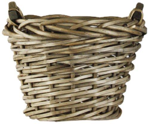 ZENTIQUE Französischen Markt-Korb, rund, klein