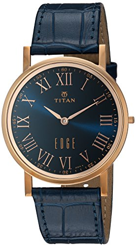 Titan Analog Blue Dial Men's Watch -NK1595WL02
