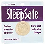 Sleep Safe Carbon Monoxide Detector | 2 In A Pack | Card Sensor from Sleep Safe