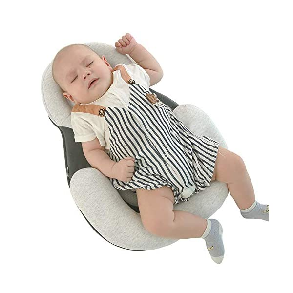 TINGYIN Baby Nest Baby Lounger,Baby Bed Cribs, Baby Bassinet,Portable Travel Newborn Lounger,100% Breathable Cotton Bring toys,for Bedroom Travel - C TINGYIN ★Adjustable Design: Suitable for 0-15Month. Comes with bag, Great baby shower gift. GROWS WITH YOUR BABY. Being adjustable, the side sleeper grows with your baby. Simply loosen the cord at the end of the bumpers to make the size larger. The ends of the bumpers can be fully opened. ★HEALTH & COMFY: hypoallergenic materials, breathable and non-toxic. We use 100-percent cotton fabric and breathable, hypoallergenic internal filler, which is safe for baby's sensitive skin. It will give your child serene, safe, and sound sleep in their lovely co sleeping crib. ★MULTIFUNCTIONAL AND PORTABLE. Use the infant nest as a bassinet for a bed, baby lounger pillow, travel bed, newborn pillow, changing station or move it around the house for lounging or tummy time, making baby feel more secure and cozy. The lightweight design and easy-to-use package with handle make our newborn nest a portable baby must-have. 3