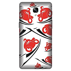 Phone Candy Designer Back Cover with direct 3D sublimation printing for OnePlus 3T