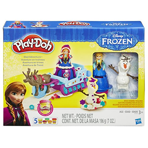 Hasbro play-doh- play-doh sled adventure featuring disney's frozen, b1860