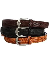 Creature Combo of Girls Belts(Color-Black;Brown;Tan||CMB-CMB-BLKBRNTAN-01