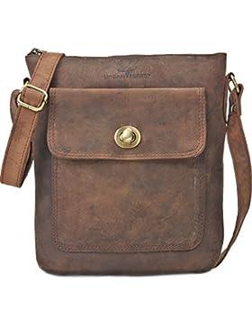 URBAN FOREST, Cntmp, Leder, Handtaschen, Messenger, Messengerbags, Freizeit Taschen, Umhängetaschen, Crossover...