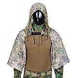 Tattica Ghillie Tuta Sniper Ghillie Suit Fondazione Pour Airsoft, Paintball, Wargame, (CP)