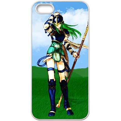 iPhone 5 5s Cell Phone Case White Fire Emblem The Sacred Stones T2F8SI