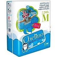 chelino Fashion & Love les nageurs–Baby–SCHW immwindeln (9–15kg)–Taille M–Couches pour bébé