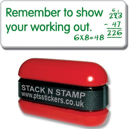 "PRIMARY Teaching Services Stempel:""Remember Yo Show Your Working Out"" Schule Markieren"