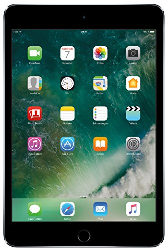 Refurbished 4 Apple Ipad (Apple MNY12FD/A iPad Mini 4 WiFi 32GB space grau)