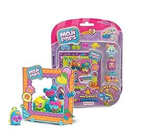 MOJIPOPS - Photo Pop con 4 figuras MojiPops, variedad de accesorios y escenario