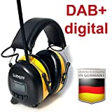 Original EARMUFF Gehörschutz mit DAB+/FM Radio und Akku