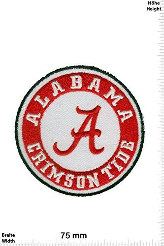 Patch - Alabama Crimson Tide - University of Alabama Official Athletic - USA - Sport USA - Sport USA - Alabama Crimson Tide - Aufnäher - zum aufbügeln - Iron On Crimson University