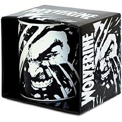 Logoshirt Marvel Comics–Wolverine Taza de café–présenté Dans un Coffret cadea