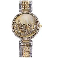 Sheli Orologio da donna bicolore argento e oro unico di design in acciaio inox