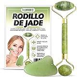 Rodillo Jade Autentico 2 Piezas   Rodillo De Jade   Jade Roller  ...