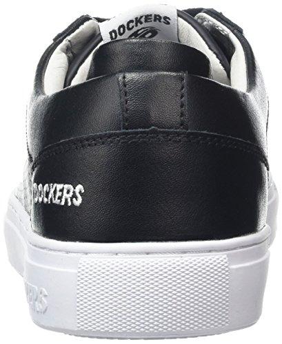 Dockers by Gerli 38tb002-100, Baskets Basses homme Noir - Noir