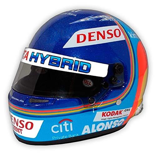 Réplica 1:2 Casco Fernando Alonso Toyota 24 Horas de Lemans