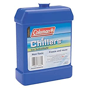 Coleman Chillers Day Pack Ice Substitute, Large Hard (Blue)