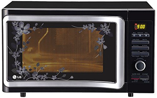 LG-28-L-Convection-Microwave-Oven-MC2884-SMB-Black-Floral