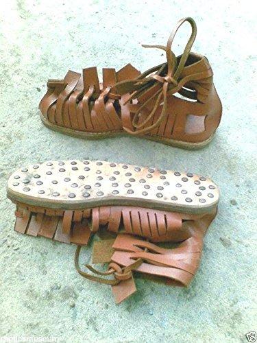 roman-soldier-legionaire-centurion-gladiator-brown-leather-men-roman-sandals-new-by-historicalmuseum