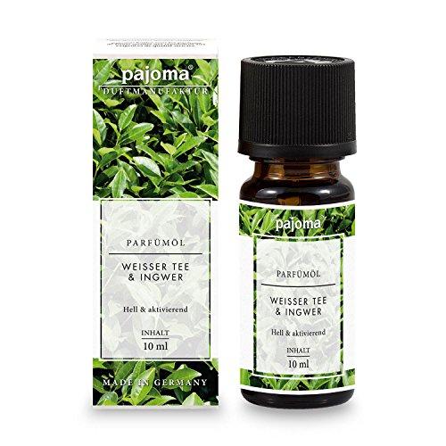Ingwer-wellness-tee (pajoma Parfümöl ''Weißer Tee & Ingwer'', 10 ml, feinste Parfümöle in Geschenkverpackung)