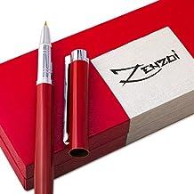 Penna Stilografica con Converter per la Ricarica di Inchiostro e Astuccio Regalo – Miglior Set di Penne Calligrafiche Manageriali per Firma Scritta per Cartucce Standard - Garanzia al 100%