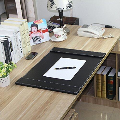 xbroffice Board feine LEDER Schreiben Board Computer-Schreibtisch Matratze, Double Lid Coffee, Standard