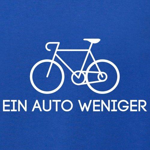 Ein Auto weniger - Herren T-Shirt - 13 Farben Royalblau