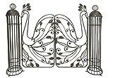 Gravidus dekorative Pforte aus Metall