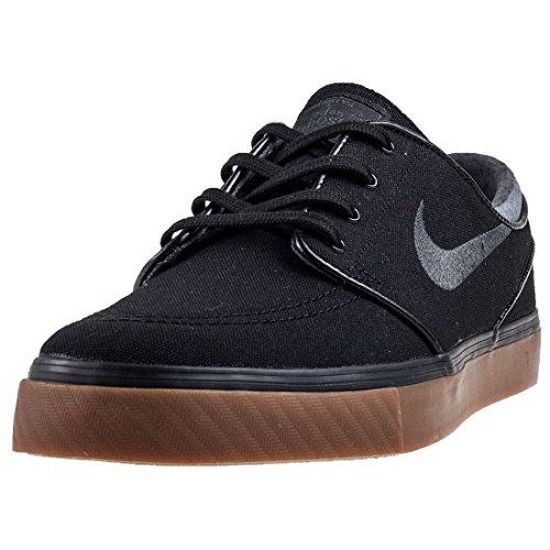Nike Herren Zoom Stefan Janoski CNVS Skateboardschuhe, Schwarz (Blackanthracitegum Med Brown 020), 46 EU