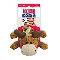 Kong Cozie Dog Toy tough and strong plush furry