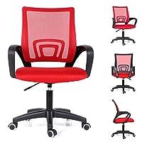 Computer Desk Chair Black/Grey/Blue/Green/Red/Orange Office Executive Mesh Chair Swivel chair