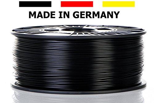 Material 4 Print - 3D-Filament - Schwarz - PLA-Kunststoffdraht - Ø 1,75mm 1kg 3D-Druckmaterial