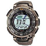 Casio Herren Uhr Digital mit Titanarmband PRG-240T-7ER