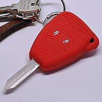 Funk Schlüssel Cover Hülle Grün Jeep Liberty Commander Grand Cherokee Dodge Neon