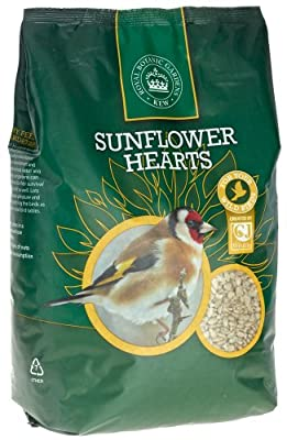 Kew Wildlife Care Collection 2Kg Kew Sunflower Hearts from CJ Wildbird Foods Ltd