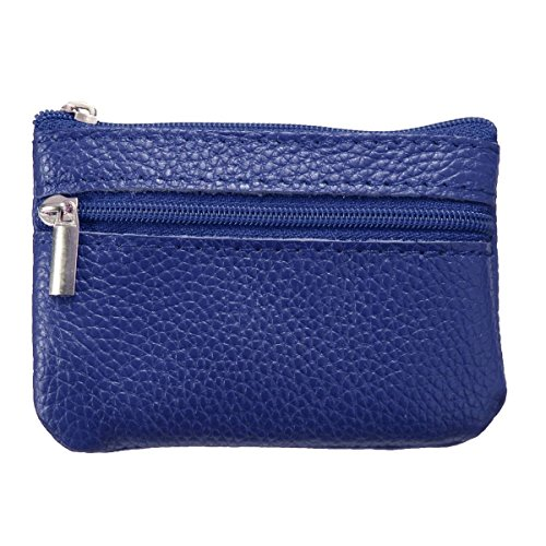 Minetom Porte-Monnaie Pat Homme Femme Portefeuille En Cuir Voyage Rangement Wallet Pochette Bag Avec Zip
